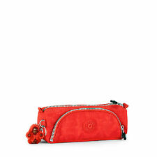 BNWT Kipling CUTE Pencil Case/Pouch in  RED RRP £22
