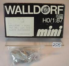 Wall aldea mini 1/87 h0 metal kit 124003 Lloyd Alexander OVP #2535