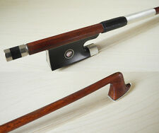 Pernambuco carbon violin bow 4/4 ebony frog with abalone, great performance