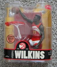 MCFARLANE NBA LEGENDS SERIES 3 DOMINIQUE WILKINS HAWKS BASKETBALL NEW RARE