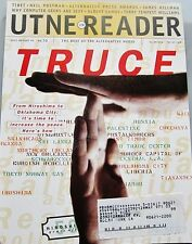 UTNE READER JULY-AUG 1995 BEST ALTERNATIVE PRESS TRUCE INCREASE THE PEACE TIBET