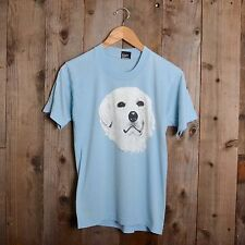 Vintage 80s Dog Face screen stars best paws cute animal labrador small t-shirt