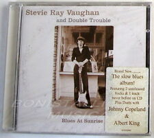 STEVIE RAY VAUGHAN RAY AND DOUBLE TROUBLE - BLUES AT SUNRISE - CD Sigillato