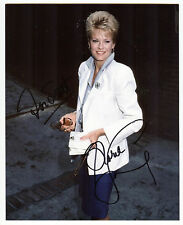"Gloria Loring ""Liz Chandler"" Signed 8x10 Photo Days of Our Lives Actress COA #3"