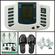 Digital Stimulator Massager Full Body Relax Pulse Acupuncture Therapy & Slipper1
