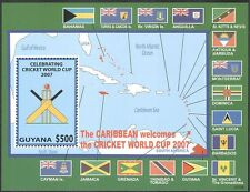 Guyana 2007 Cricket World Cup Championships/Sports/Games/Map/Flags 1v m/s n17379