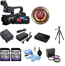 Canon XA10 HD Professional Camcorder + 64GB MC + FILTER KIT SUPREME BUNDLE NEW!
