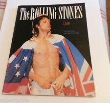 Book The Rolling Stones LIVE color photos from 1981 - 1982 world wide tours