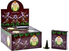 One 10-Cone Box SAC White Sage Cone Incense!