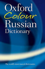 Oxford Colour Russian Dictionary,GOOD Book