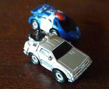 Back To The Future 2 DeLorean Plus Police Micro Machines 1993
