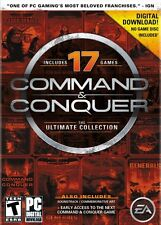 Command and Conquer The Ultimate Collection (PC Games) - FREE SHIPPING