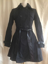 Blanc Noir Jacket Belted Spiked Corset Double Breasted Coat Goth Punk Steampunk