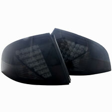 Tail Light For 00-03 Nissan  Sentra  Black / Smoke Lens PAIR
