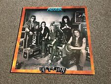 ACCEPT - EAT THE HEAT - 1989 LP A1/B1 FIRST PRESSING EX/EX - MORE METAL IN SHOP!