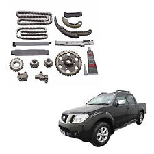 NISSAN Navara d40 yd25 2.5 DCI Duplex TIMING CHAIN KIT di conversione 2005-2010