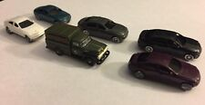 NEW! CWM 54' Ford Utility Truck And 5 Cars N Scale