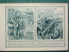 1915 WWI WW1 PRINT ~ GRENADIER COMPANY 18th CENTURY ~ TODAY HURLING JAM-TIN