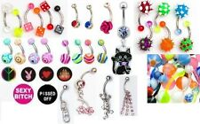 25 end of range clearance navel belly bars rings bargain