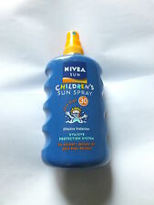 Children's Sun Spray Nivea Sun Very High SPF30 Extra Water Resistant Spray £4.99