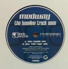 "Medway ""The Bassline Track 2005"" * REL025 / Luke Chable + Jiva 'Roid Rage' Mixes"