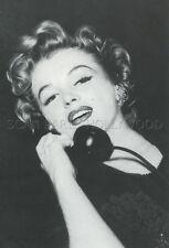 MARILYN MONROE VINTAGE PHOTO POSTCARD CP 80s #46