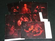 SET OF SIX TUCK POSTCARDS - REMBRANDESQUE - SERIES 913.