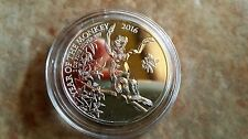 1 oz UK Lunar Year of the Monkey Silver 2 Pounds oncia argento 999 ounce capsula
