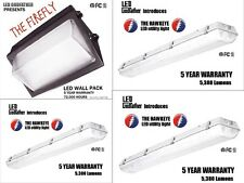 LED Utility Shop Light Ultimate Package Instant-On Garage Work Shop Area 4 PACK!