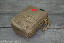 US IFAK First Aid Erste Hilfe Tasche abnehmbar MOLLE Modular System coyote tan
