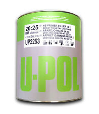 U-pol 2K High Build DARK GREY Car Primer S2025 1L Primer VAT inclusive FREE POST