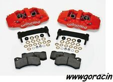 Wilwood AERO6 Front Caliper Upgrade Kit Fits 1997-2013 Corvette C5,C6,Z06,Red!