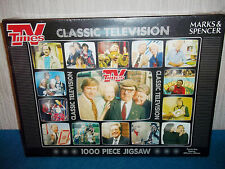 TV TIMES - M&S - CLASSIC TELEVISION - 1000 PIECE JIGSAW PUZZLE - NEW & SEALED