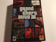 Grand Theft Auto III (PC, 2002) Plus Bonus San Andreas and Vice City