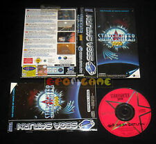STARFIGHTER 3000 Sega Saturn Versione Italiana Star Fighter ••••• COMPLETO