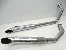 2002 Honda VT 750 Shadow Street Bike Cobra Exhaust Pipes Silencer Mufflers
