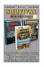 Survival, How to Store Food and Water, How to Survive Anywhere in the World...