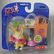 LPS Target exclusive retired #285 bunny with sunglasses bag +