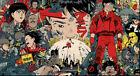 Akira Animation Art Print poster (24x13inch) Decor 04