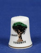 El Drago Tenerife China Thimble B/42