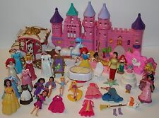 Polly Pocket Disney Princess lot