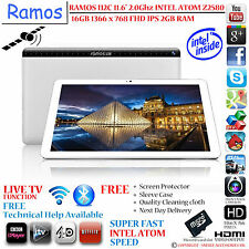 "Ramos i12c 2 Ghz Intel Atom z2580 11,6 "" 1366 x 768 píxeles Android Tablet Pc"