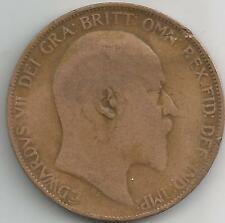 Great Britain Penny Coin 1906 EDWARD VII