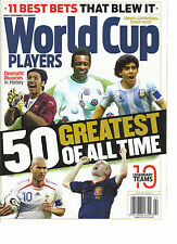 WORLD CUP PLAYERS, 50 GREATEST OF ALL TIME ( 11 BEST BETS THAT BLEW IT )  2014