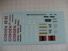 decalque decals decalcomanie camion citroen jumper assistance course 1/43