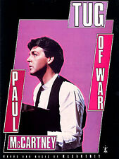 Tug Of War Paul Mccartney Learn to Play Piano Vocal Guitar PVG SHEET Music Book
