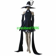 Soul Eater Blair Cosplay Costume  any size  Body Skirt Hat sleeves