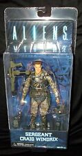 "NECA ALIENS SERIES 2 SERGEANT WINDRIX (COLONIAL MARINES) - 7"" action figure"