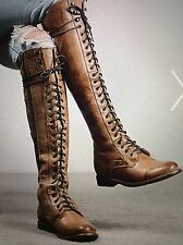 Bed Stu Della Tan Rustic Boots - Retail $345 - Very Rare - Free People