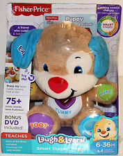 Fisher-Price Laugh & Learn Smart Stages Puppy - W Bonus DVD - Light Mark on Face